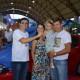 Campanha Não ande a pé, compre em Parobé entrega dois Fiat Mobi
